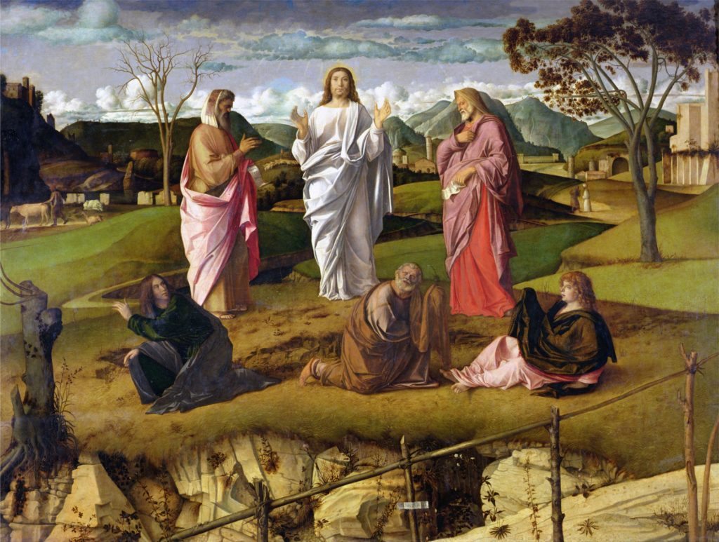 The Transfiguration, 1480 by Bellini, Giovanni