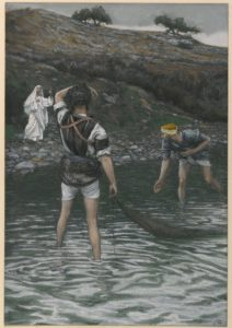 Tissot, James, The calling of Peter and Andrew.