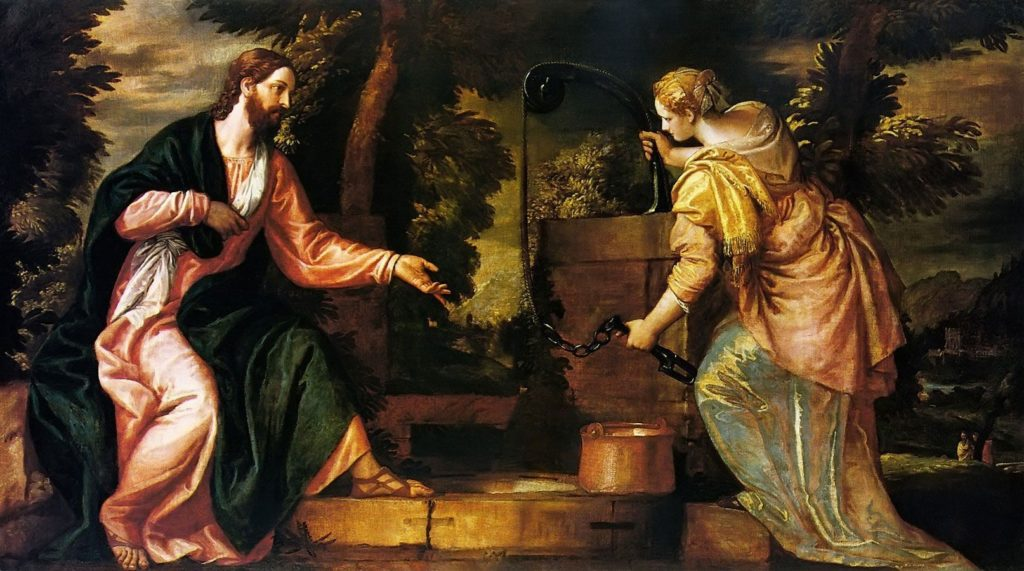 Christ and the Woman of Samaria, Paolo Veronese